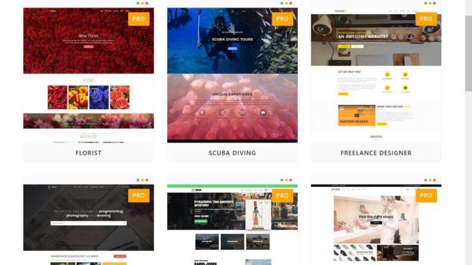 Besten Wordpress Themes